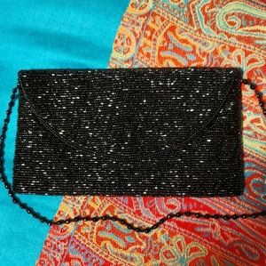 MOYNA  designer hand-beaded clutch/shoulde…
